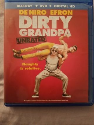 Dirty Grandpa Blue Ray