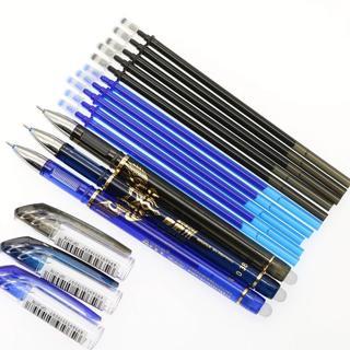 1pc Erasable Magic Gel Pen Blue Black Ink Refill 0.38mm Children Student Gift Stationery School Of