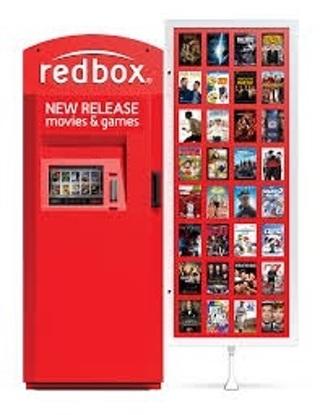 1 REDBOX movie rental