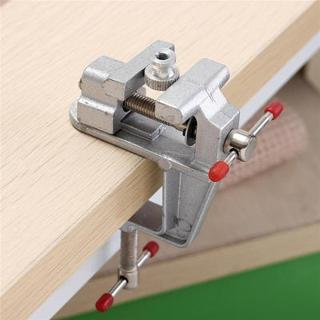 """New 3.5"""" Aluminum Mini Small Jewelers Hobby Clamp On Table Bench Vise Tool"""