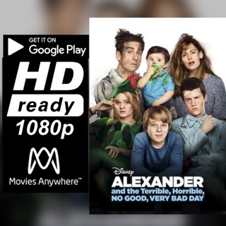 ALEXANDER AND THE TERRIBLE, HORRIBLE, NO GOOD, VERY BAD DAY HD GOOGLE PLAY CODE ONLY