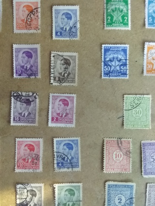 337# Jugoslaven Stamp Lot
