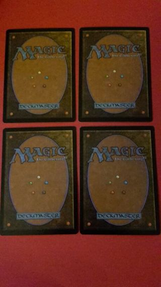 4 Random Magic the Gathering CCG cards + Bonus! No Duplicates
