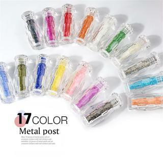 Mini Caviar Beads Crystal Rhinestones Glass Micro Bead Nail Art DIY Glitter 1PC