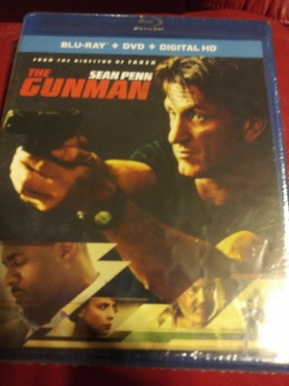 The Gunman Br+DVD Factory Sealed
