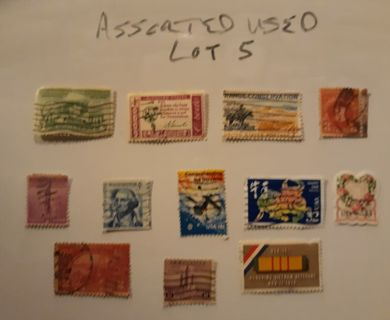 ASSORTED US LOT 5 USED