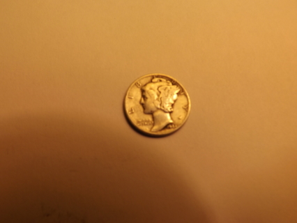 1944 Silver Liberty Head Dime