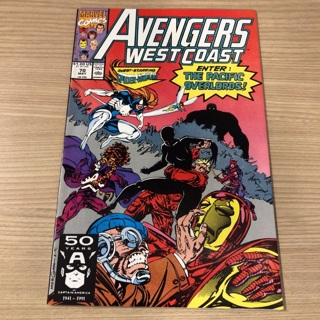 avengers west coast #70  marvel  1991