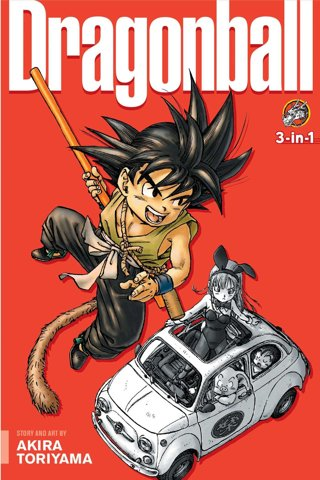 Dragon Ball (3-in-1 Edition), Vol. 1: Includes vols. 1, 2 & 3 FREE SHIPPING