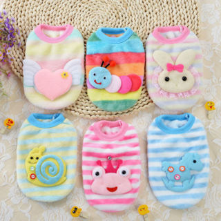 Cute Plush Cartoon Cosplay Small Dog Cat Pet Clothes Outdoors Apparel Clothing