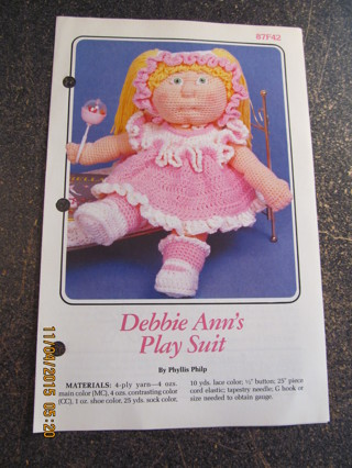 Debbie Ann's Pinafore Dress