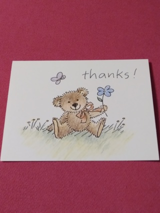 Thanks! Notecards