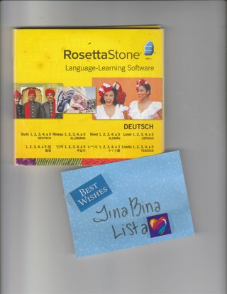 Free: Rosetta Stone Language Learning Software: Deutsch