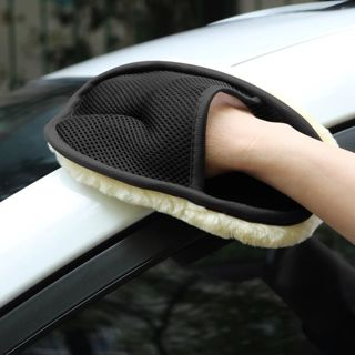 Car-styling Soft Wool Car Wash Washing Gloves Auto Care Car Cleaning