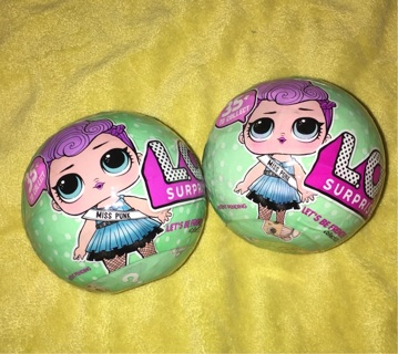 TWO Series 2 LOL Surprise Dolls NEW BIG Sisters