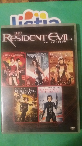 dvd  the resident evil collection  free shipping