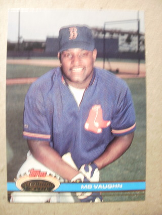 Free 1991 Topps Mo Vaughn Rookie Card Sports Trading