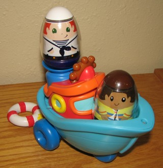 Free Playskool Weeble Wobbles Boat 2 Weebles Guc Other Toys