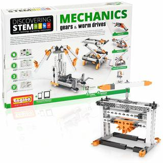 NEW Engino Discovering STEM Mechanics Gears & Worm Drives Construction Kit