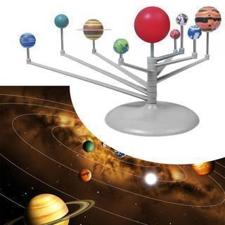 Kids Toy GA Solar System Planetarium Model Kit Astronomy Science Project DIY