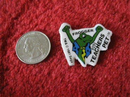 1981 Sega Frogger Series Refrigerator Magnet: #p291 Teachers Pet