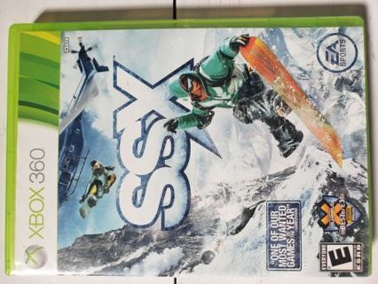 XBox 360 Video Game SSX Snowboarding