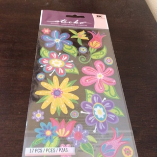 Sticko flower stickers