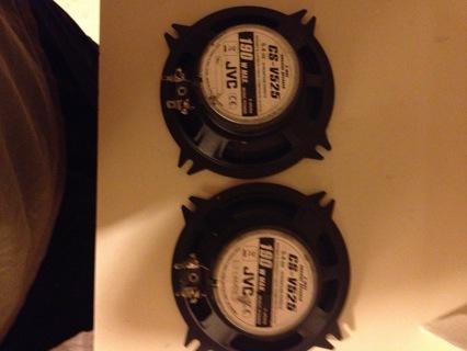 speakers car jvc 190 watt max