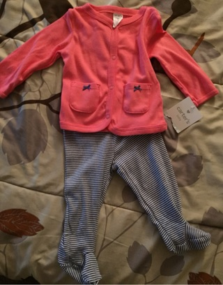 Carters Girls 6 Months Outfit