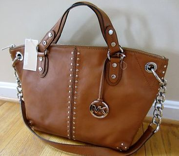 Free: **MUST SEE** MICHAEL KORS BROWN STUDDED HANDBAG!! - Handbags ...