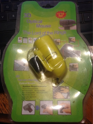 Yellow Finger Mouse