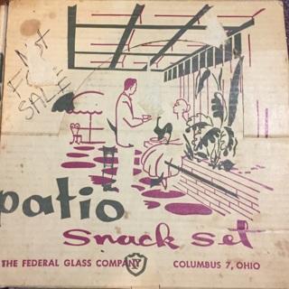 Free Federal Patio Snack Set Columbus Set Columbus 7 Ohio Antiques Listia Com Auctions For Free Stuff