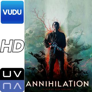 Annihilation ~ Digital HD Vudu Movie Code (UV/UltraViolet) ~ NATALIE PORTMAN Jennifer Jason Leigh
