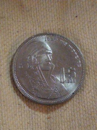 1986 Mexico peso