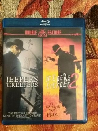 Jeepers Creepers 1-3 Bluray