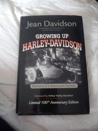 New Book Growing Up Harley Davisonew b