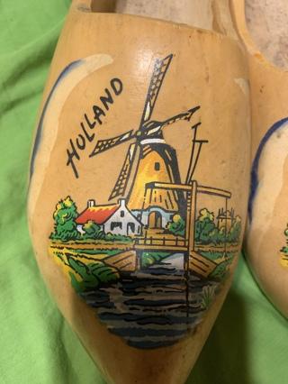 Dutch Holland wooden shoes~