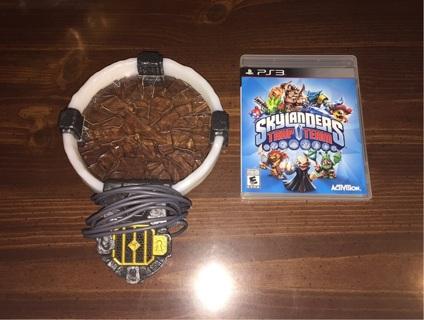 VERY GOOD PS3 Skylanders: Trap Team Game + Traptanium Portal Combo!