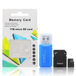 1TB/1024GB Micro SD Card with Adapter (Class 10 Speed) Memory Storage Store Data File
