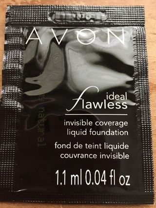 Avon Ideal Flawless Invisible Coverage Liquid Foundation (SAMPLE)