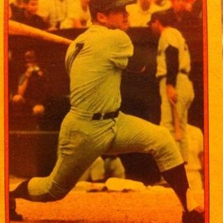 1985 topps cs MICKEY MANTLE
