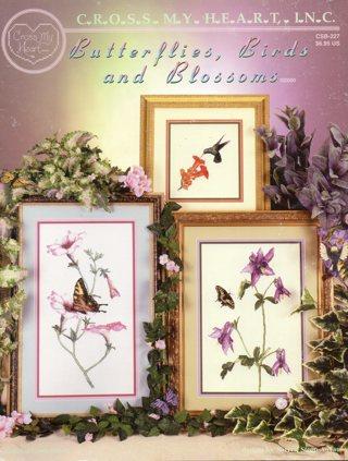 Cross Stitch Book: Butterflies, Birds & Blossoms