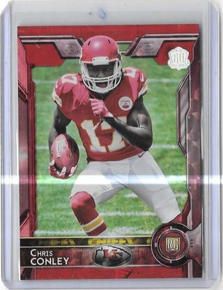 2015 Topps 60th Anniversary Red #ed 49/60 - Chris Conley