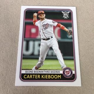 2020 Topps Big League - [Base] #162 Carter Kieboom