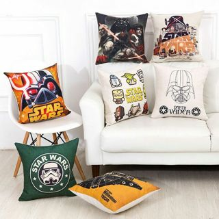 Star Wars Force Awakens Jedi Knight Darth Vader Pillow Case Cover Cushion Cover