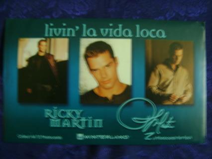 Ricky Martin New Sealed Photocards