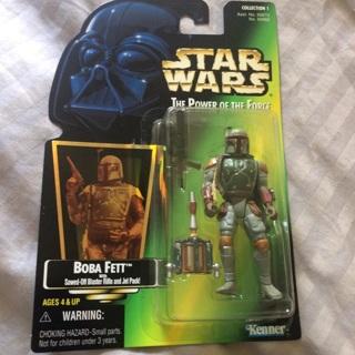 Star Wars Boba Fett Hasbro 1997