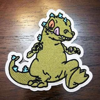 Awesome Rugrats Reptar Patch