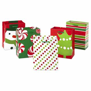 CHRISTMAS GIFT BAGS!! PICK ANY TWO OF THE - Hallmark Holiday Small Gift Bag Assortment
