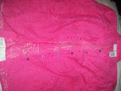 Woman's Dress Shirt size 12/14 large